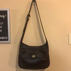Coach vintage Taft bag brown leather bag No. 9980